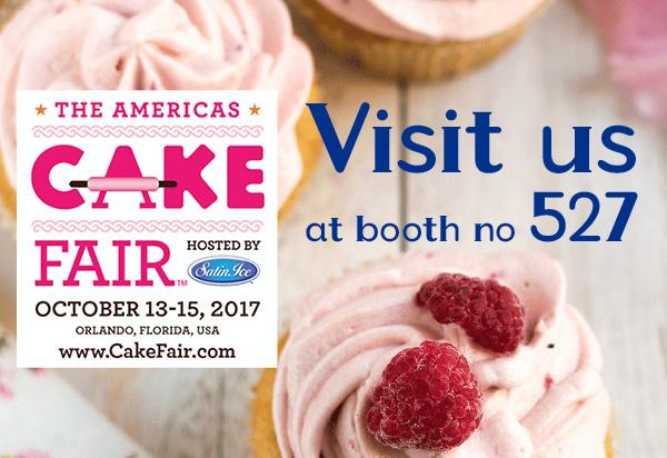 Visit us at the Cake fair in Orlando